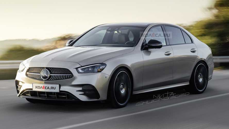 2021 Mercedes C-Class Rendered, New Prototype Caught In Traffic