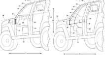 ford bronco door patent application