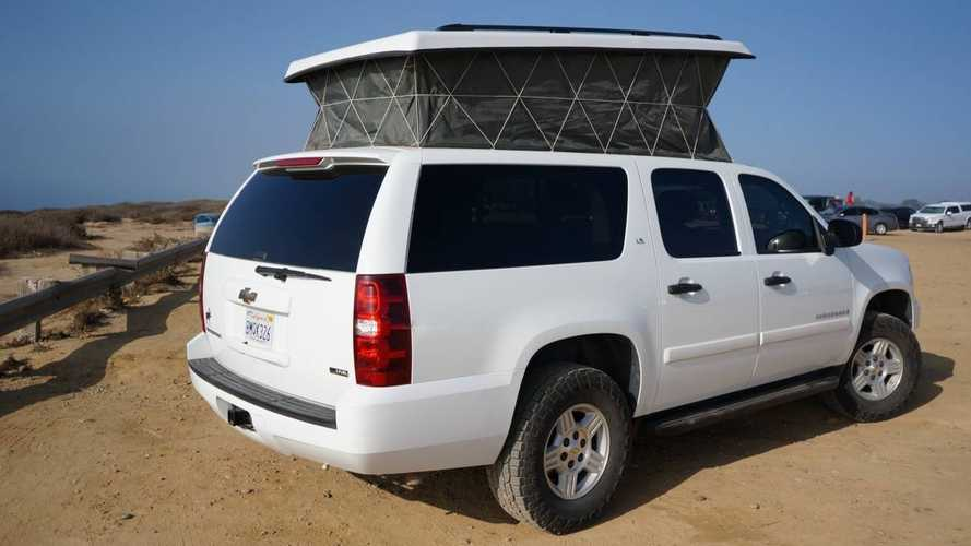 Chevy Suburban Camper Is Chock-Full Of Neat Features