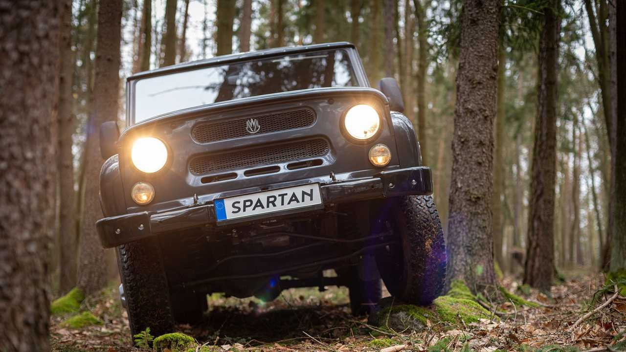 The Fully Electric MWM Spartan Brings The UAZ Hunter To New Mobility