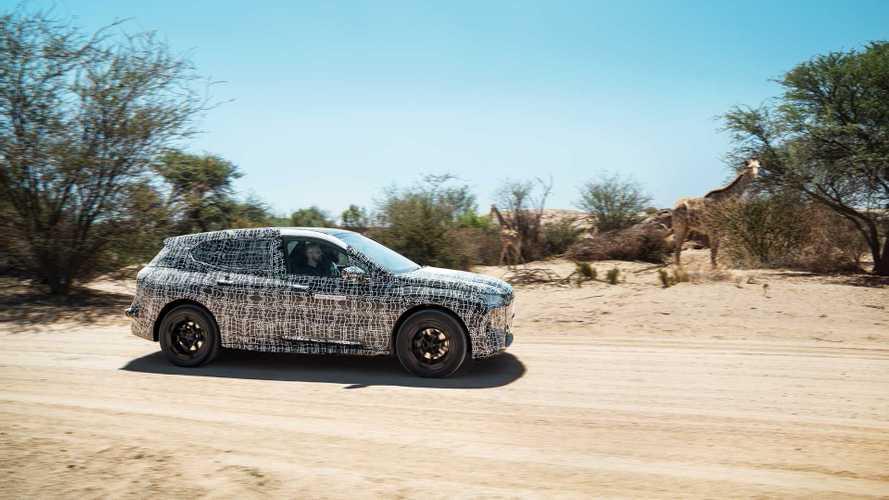 BMW iNext, de pruebas en Sudáfrica