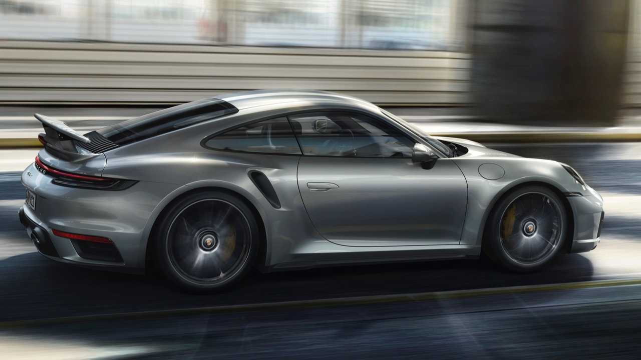 Porsche 911 Turbo S Takes GT3 Approach With Lightweight Package - Motor1
