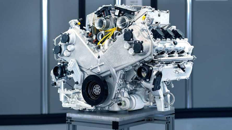 Aston Martin Valhalla: motor V6