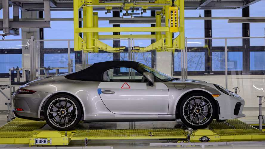 This glorious Porsche Speedster is the final 991-series 911