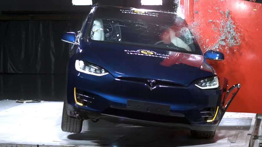 Crash Test EURO NCAP 2019 Tesla Model X