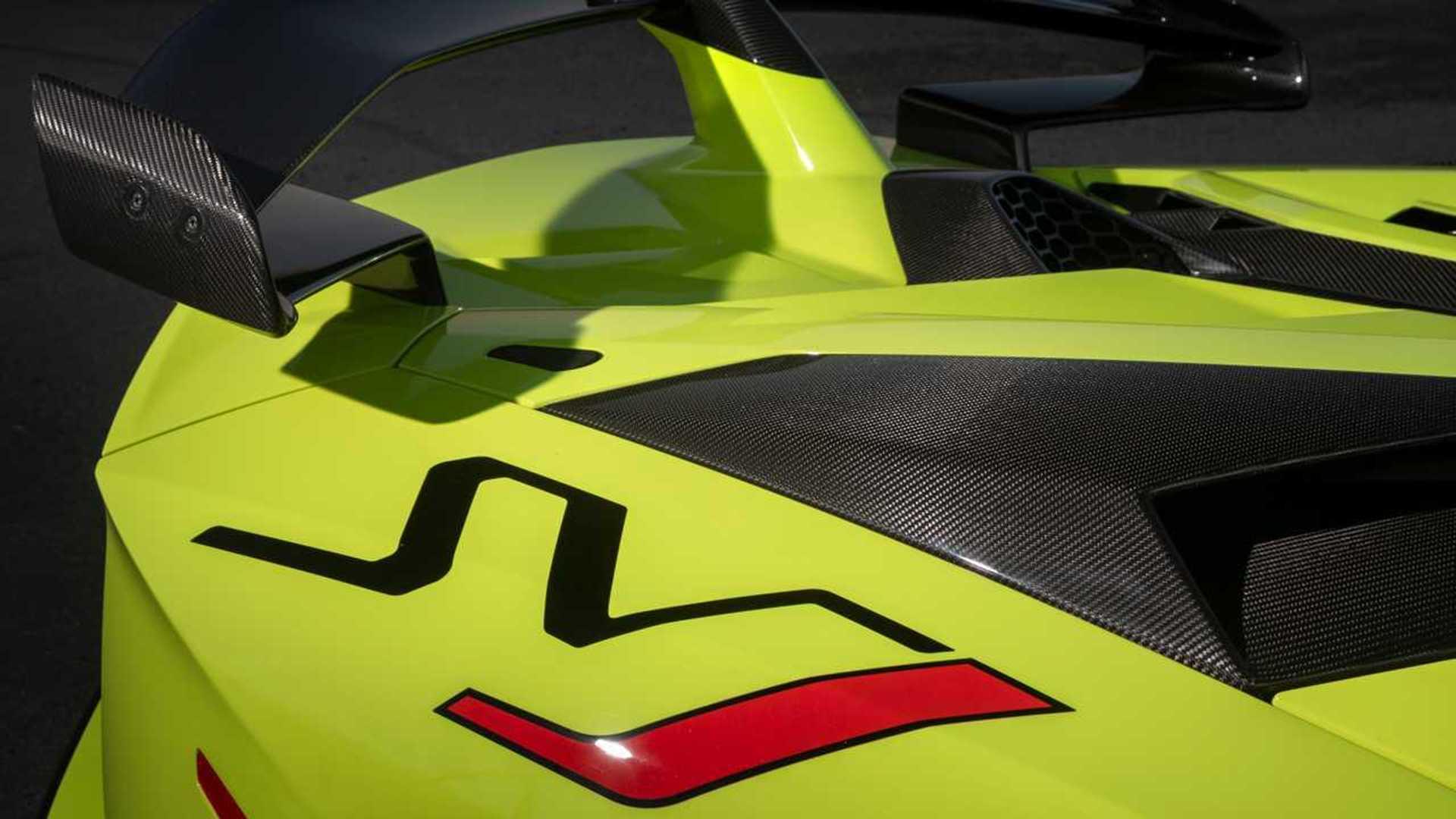 2020 Lamborghini Aventador SVJ Roadster