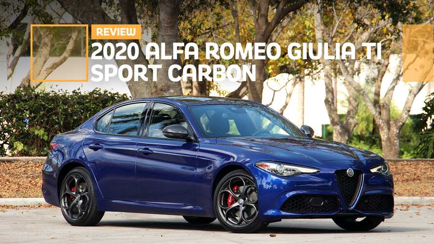 2020 Alfa Romeo Giulia Ti Sport Carbon Review: Sleek And Sporty