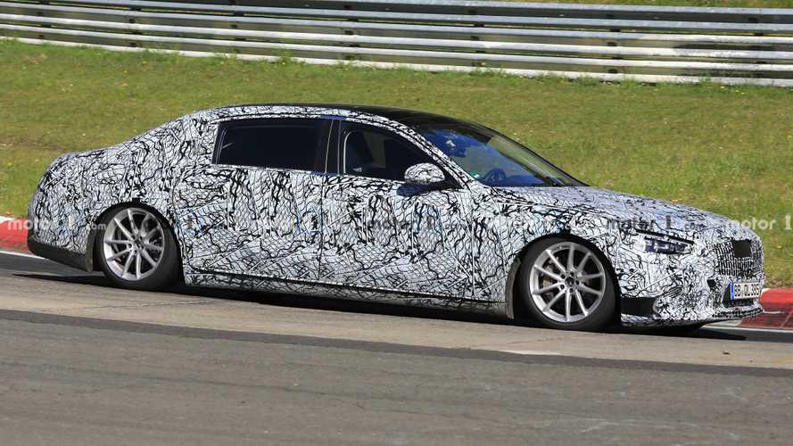 Mercedes-Maybach S-Class Spied Looking Glued To The Nürburgring Tarmac