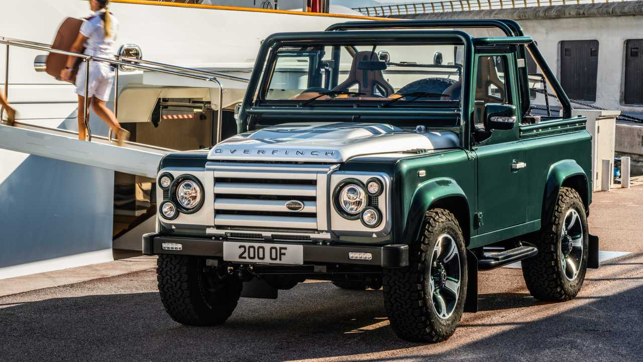 Land Rover Defender descapotable by Overfinch