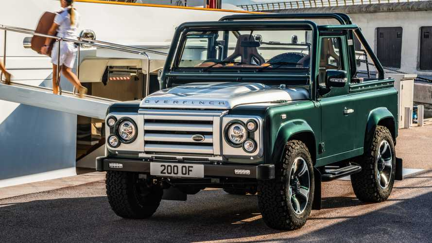 Este Land Rover Defender by Overfinch esconde una sorpresa