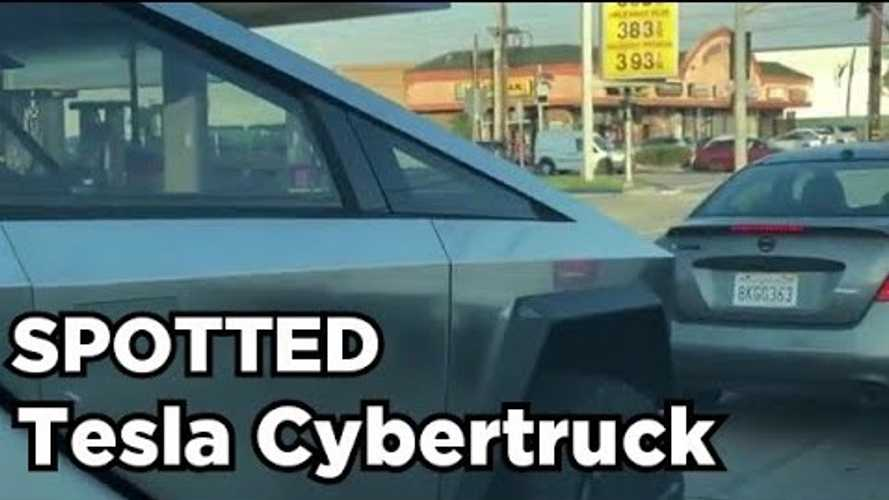 Nuevo video captura la Tesla Cybertruck de cerca en las calles