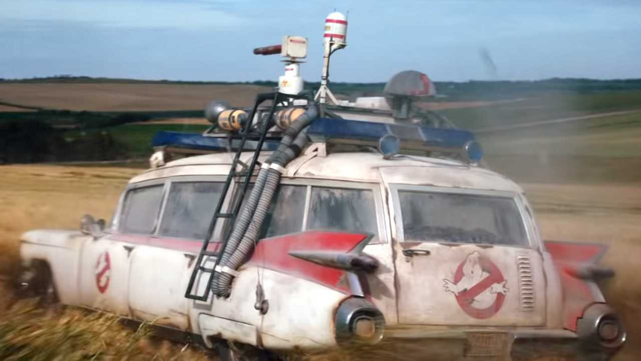Watch Ecto-1 Drift In Ghostbusters: Afterlife Trailer