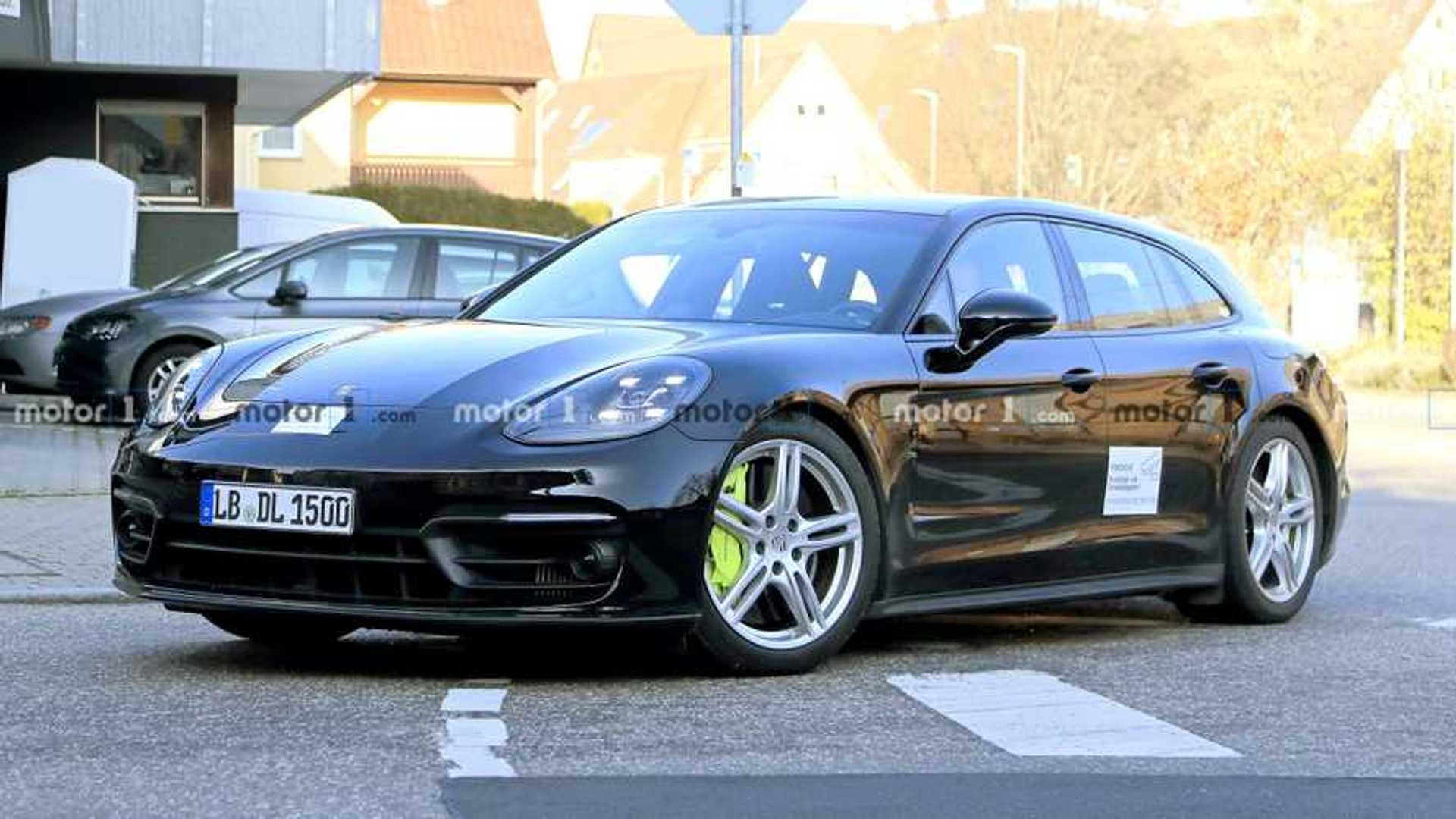 2020 - [Porsche] Panamera II restylée  Porsche-panamera-sport-turismo-facelift-spy-photo