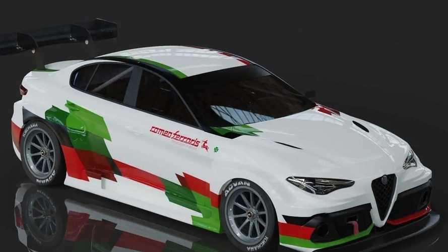 Alfa Romeo Giulia, arriva l'elettrica per correre nel campionato ETCR