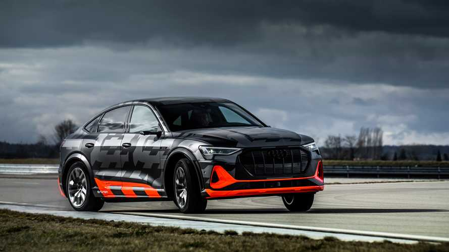 Audi привезет в Россию трехмоторные e-tron и e-tron Sportback
