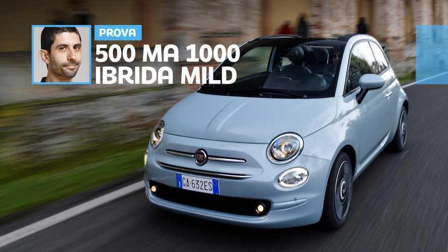 Fiat 500 mild hybrid, come va l'elettrico che aiuta il benzina