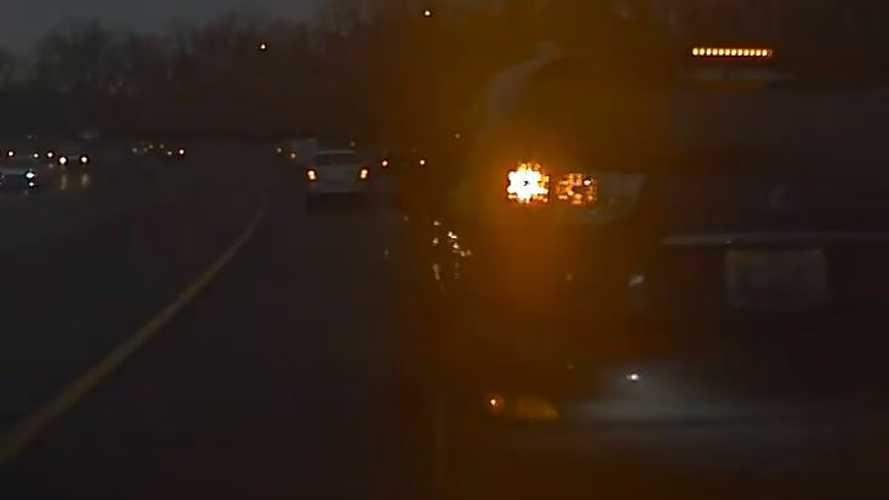 TeslaCam Captures Extreme Road Rage: Lexus SUV Brake Checks Tesla
