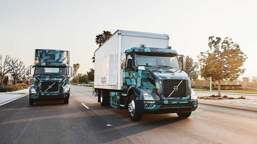 Volvo Trucks Demonstrates Pilot All-Electric VNR Models