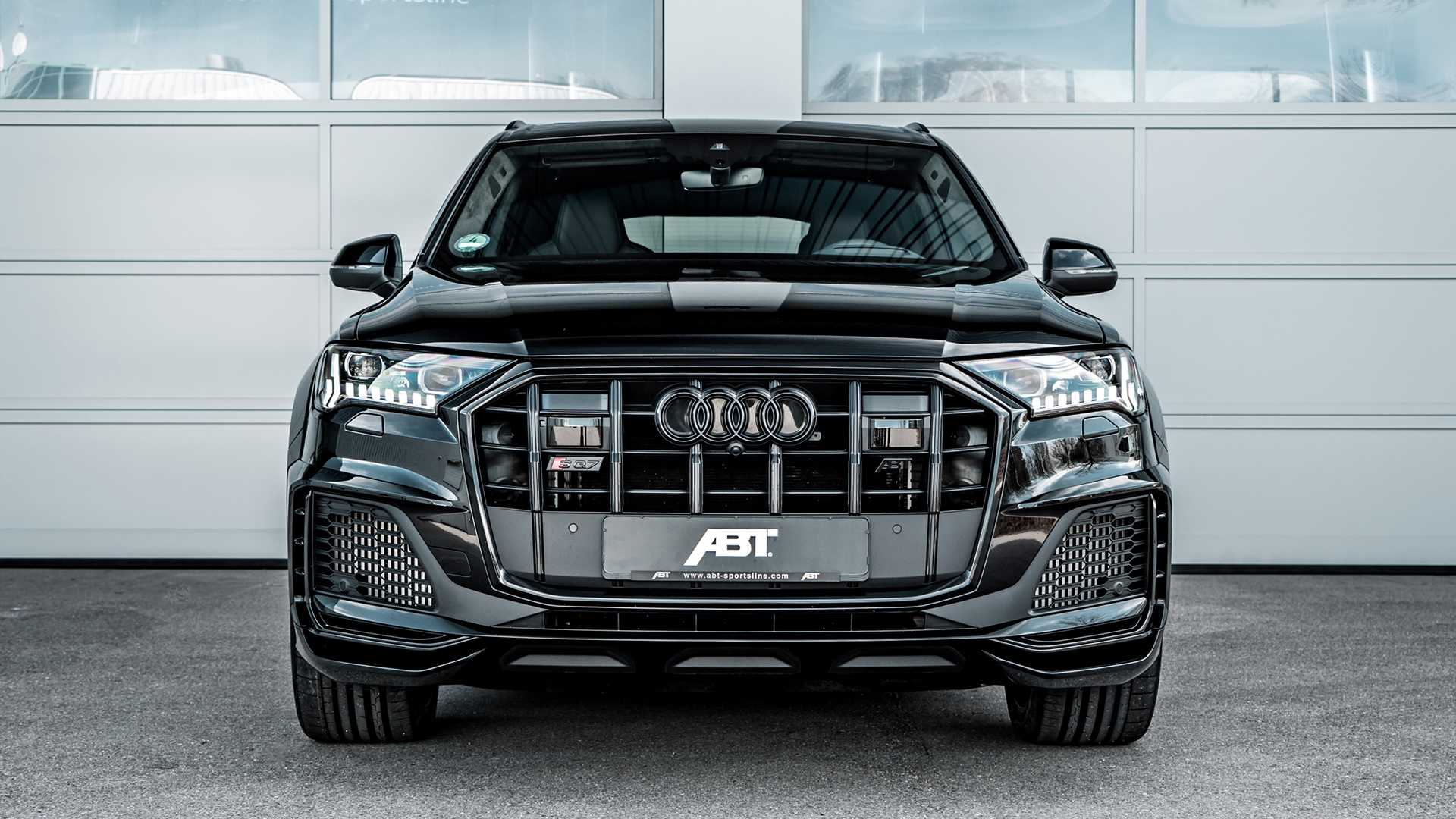 Audi Sq7 By Abt Is The Widebody Diesel Suv With Loads Of Torque
