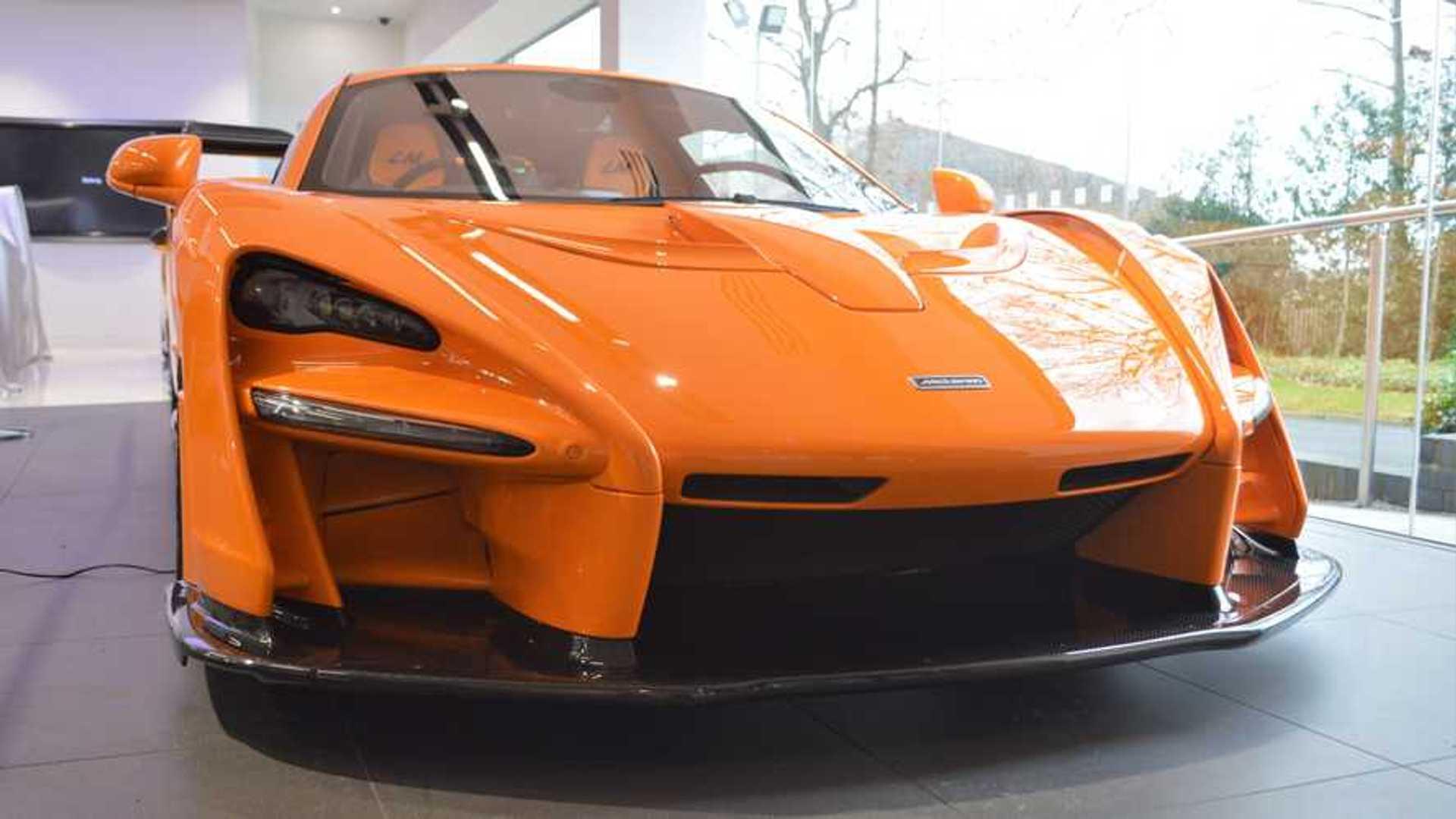 Papaya Orange McLaren Senna LM