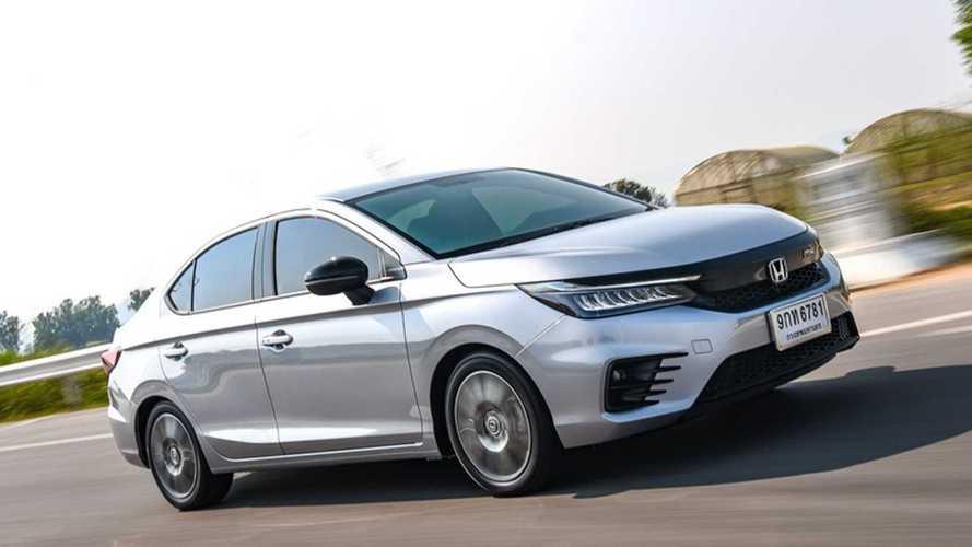 Honda City 2021 (Teste Tailândia) - movimento