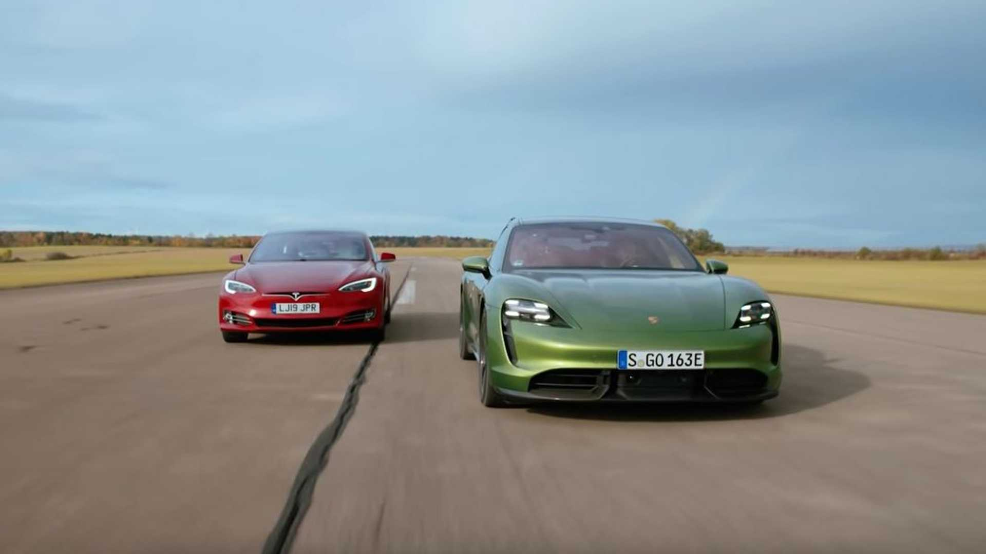 Here S Why The Porsche Taycan Is Faster Than The Tesla Model S