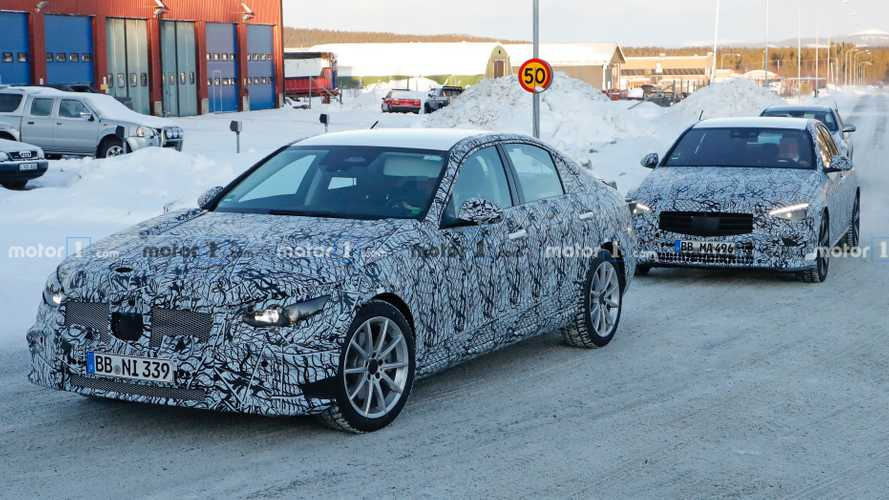 2021 Mercedes C-Class Spy Photos