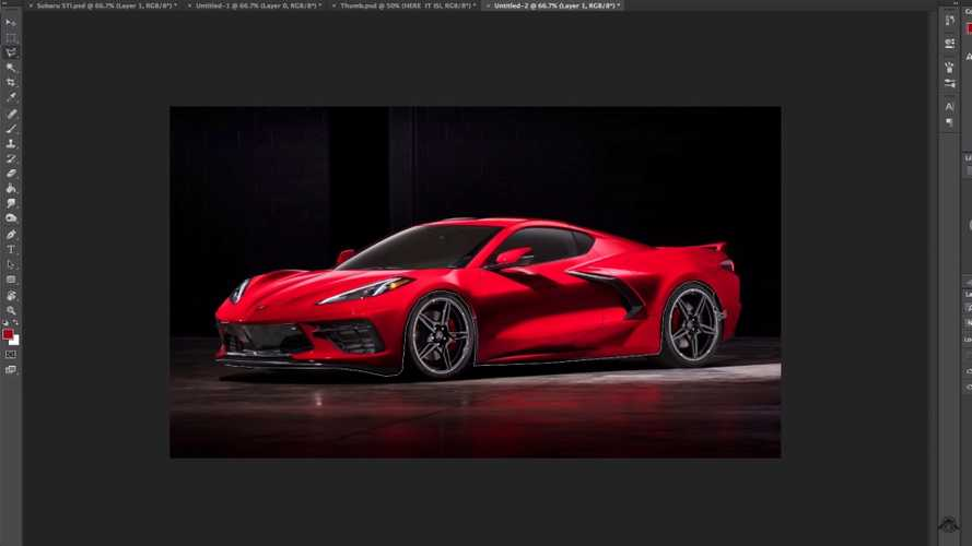 Chevy Corvette SUV Sketch