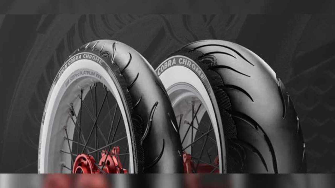 Avon Cobra Chrome tires