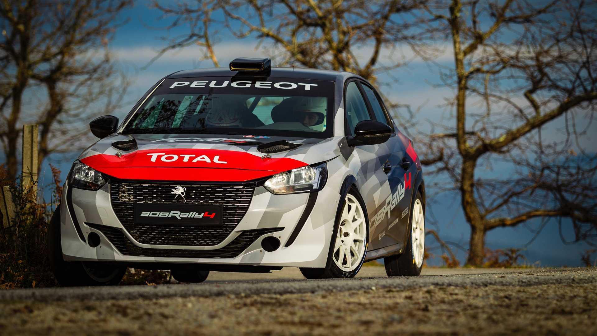 Probamos el Peugeot 208 Rally4, el nuevo coche de carreras de la marca