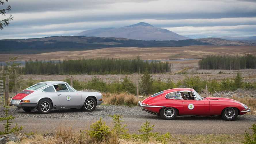 Jaguar pips Porsche in fight for inaugural Highland 1000 victory