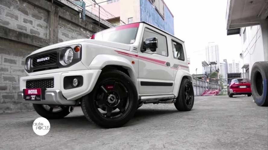 Suzuki Jimny, mette il turbo e arriva a 200 CV