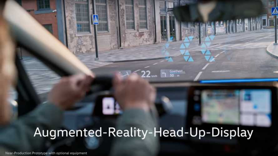 Volkswagen ID.3 promises the industry's most brilliant heads-up display