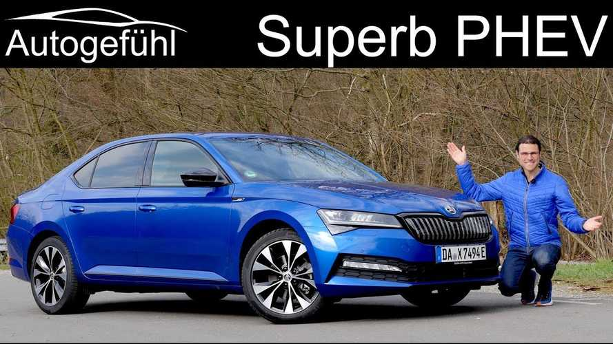 Skoda Superb iV Is A Lot Of PHEV For The Money