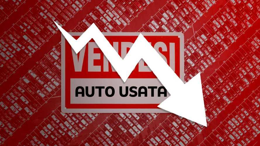 Calano le vendite di auto usate, ma non crollano come il nuovo