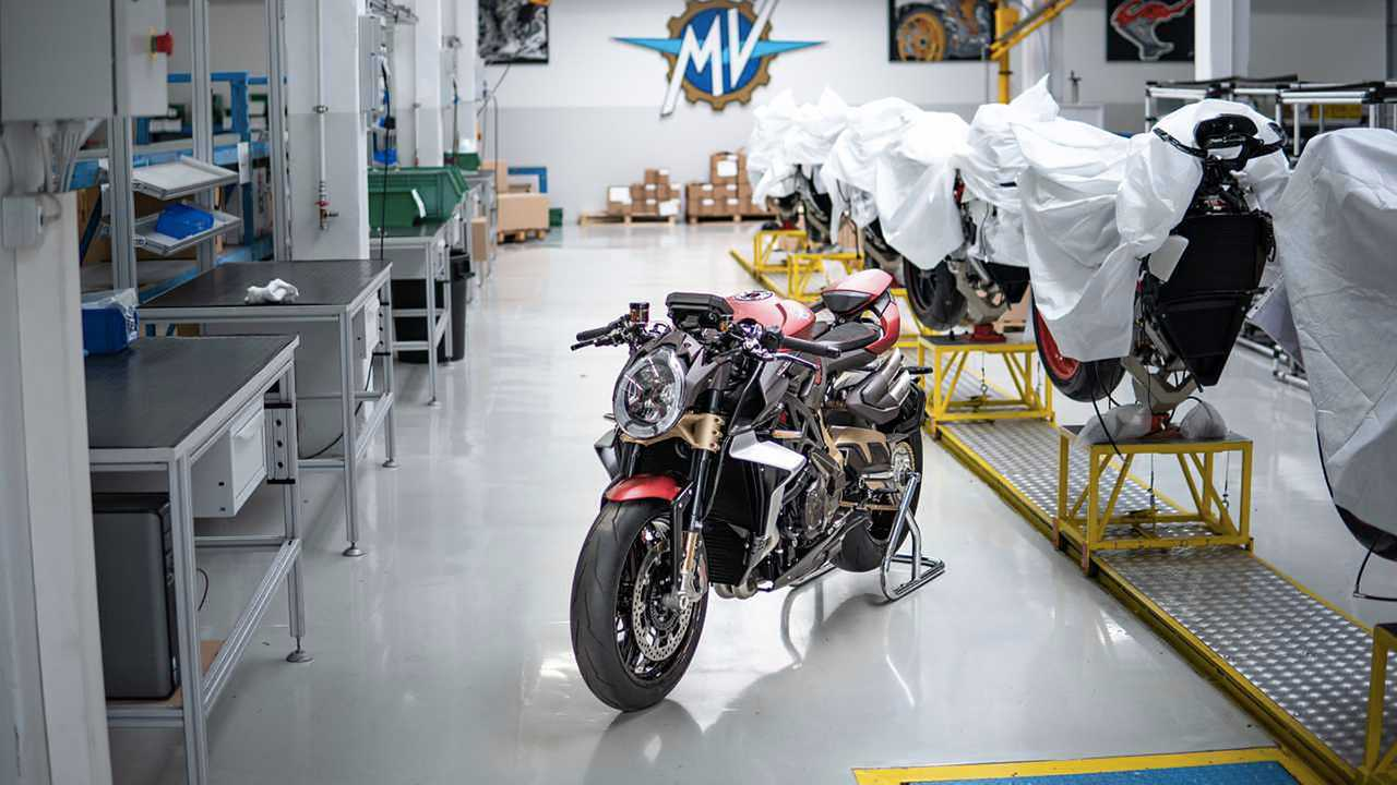 MV Agusta Factory