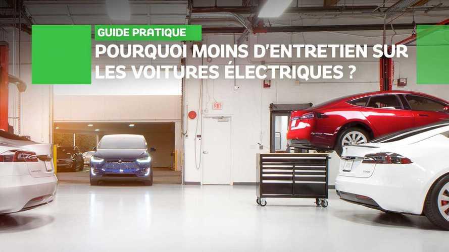 Pourquoi les voitures électriques ont-elles moins besoin d'entretien ?