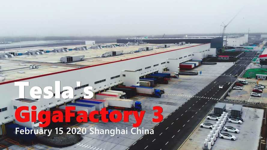 Tesla Gigafactory 3 Is Shipping Cars: February 15, 2020 Video