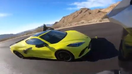 2020 Corvette Driver Nearly Causes Crash With Motorcycle Group