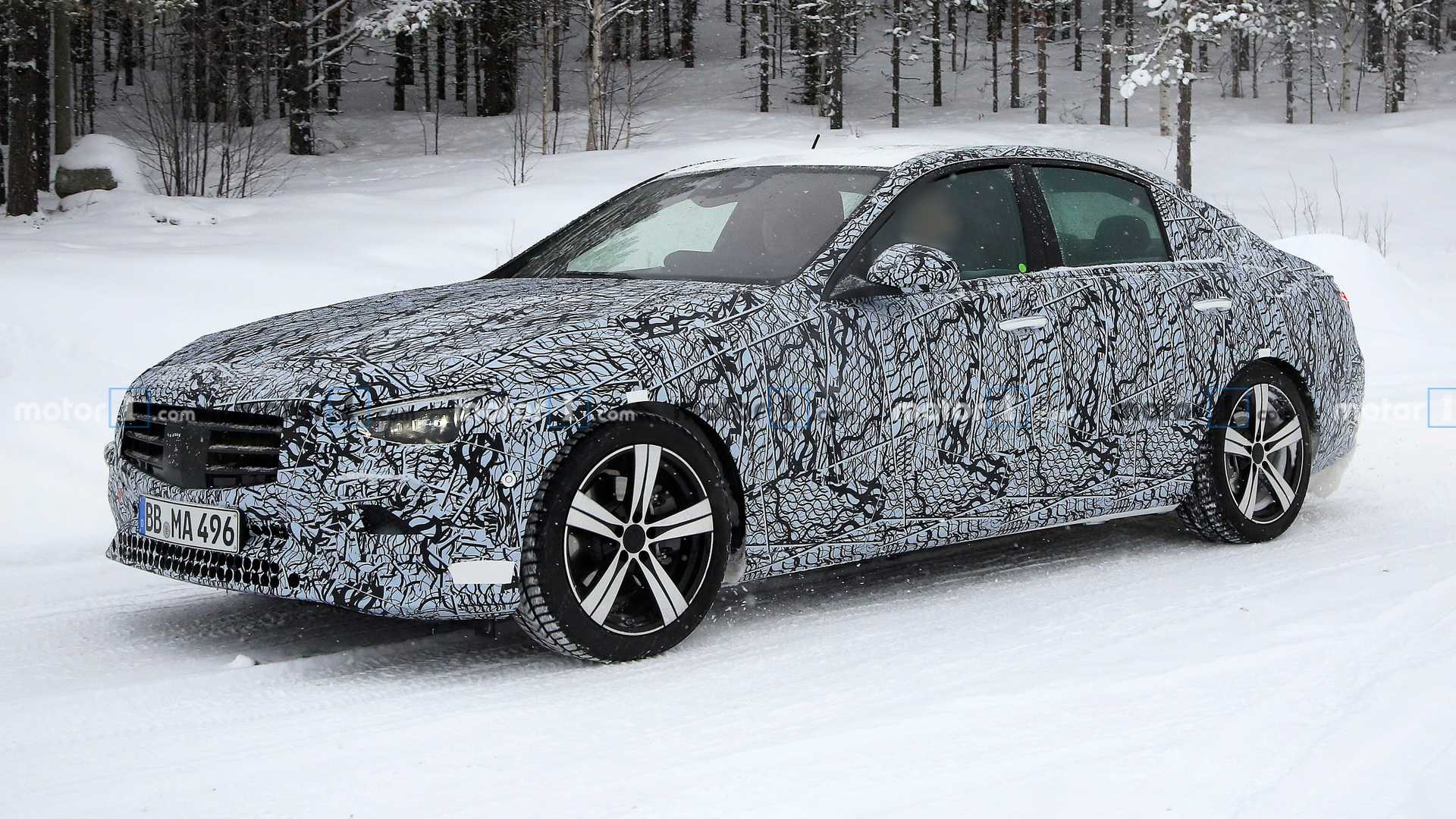 2020 - [Mercedes-Benz] Classe C [W206] - Page 3 2022-mercedes-c-class-sedan-spy-photo