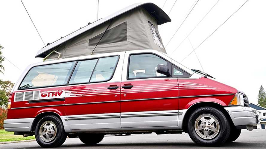Start Camping Easy With This Mint 1997 Ford Aerostar GTRV For $5,500
