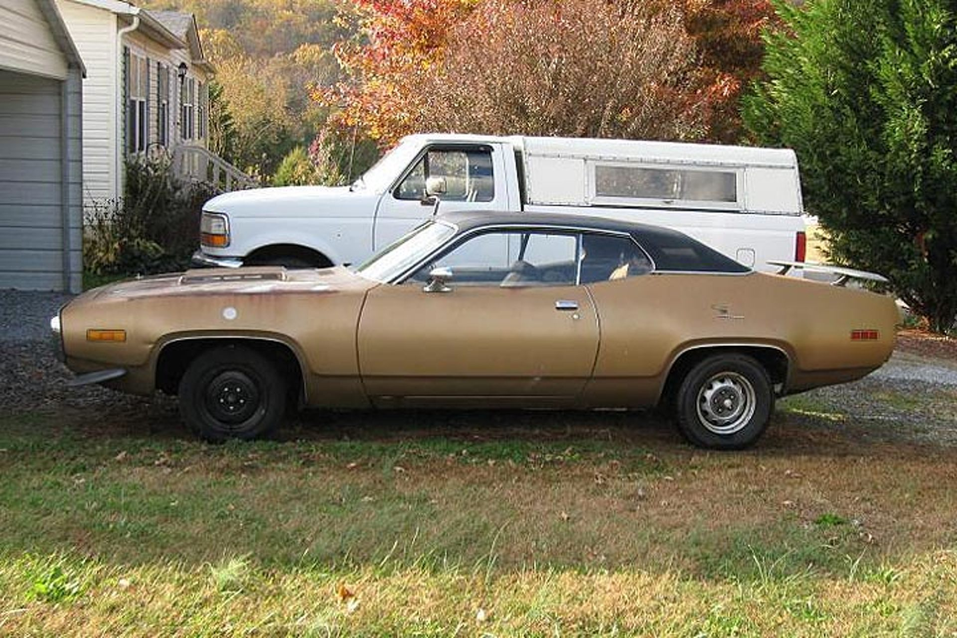 This 71 Plymouth Road Runner Is A Barn Find Beauty