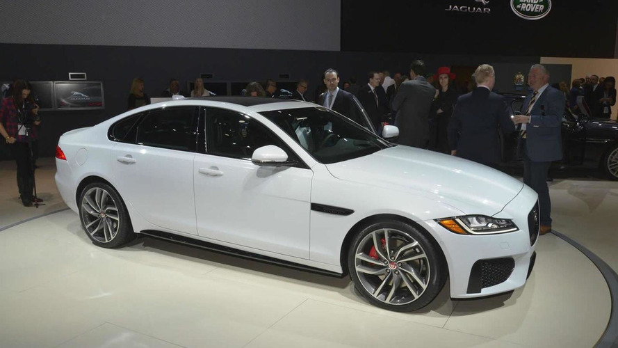 2016 Jaguar XF makes world debut in New York