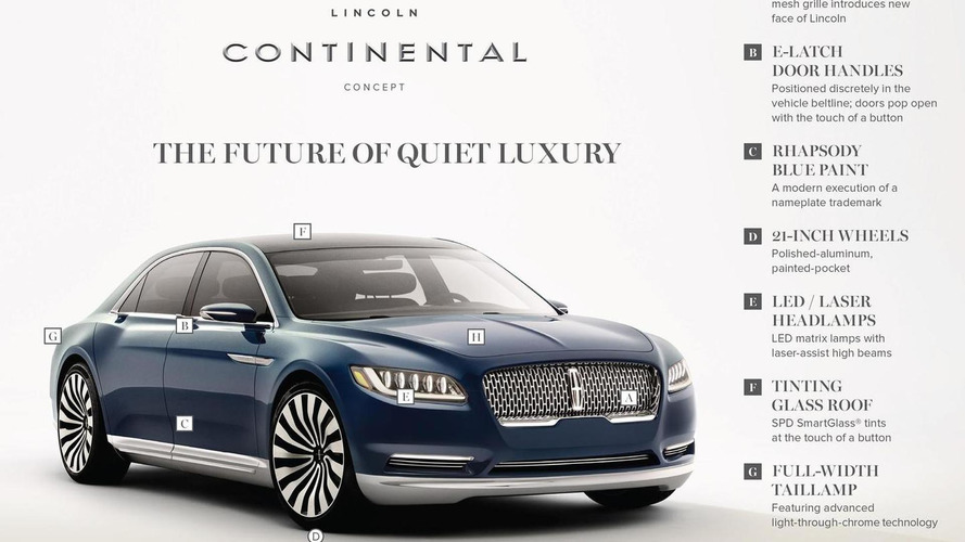 Lincoln Continental News And Reviews Motor1 Com