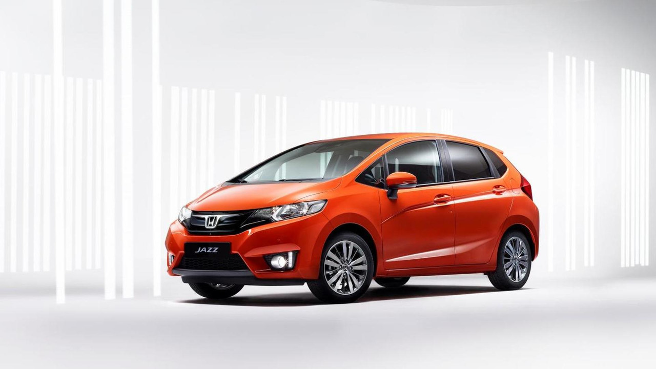 Production Euro-spec Honda Jazz