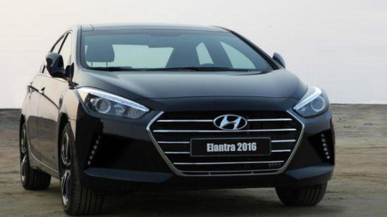 2016 Hyundai Elantra (not confirmed)