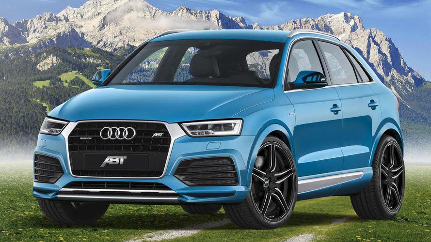 Audi Q3 gets styling & performance tweaks from ABT Sportsline