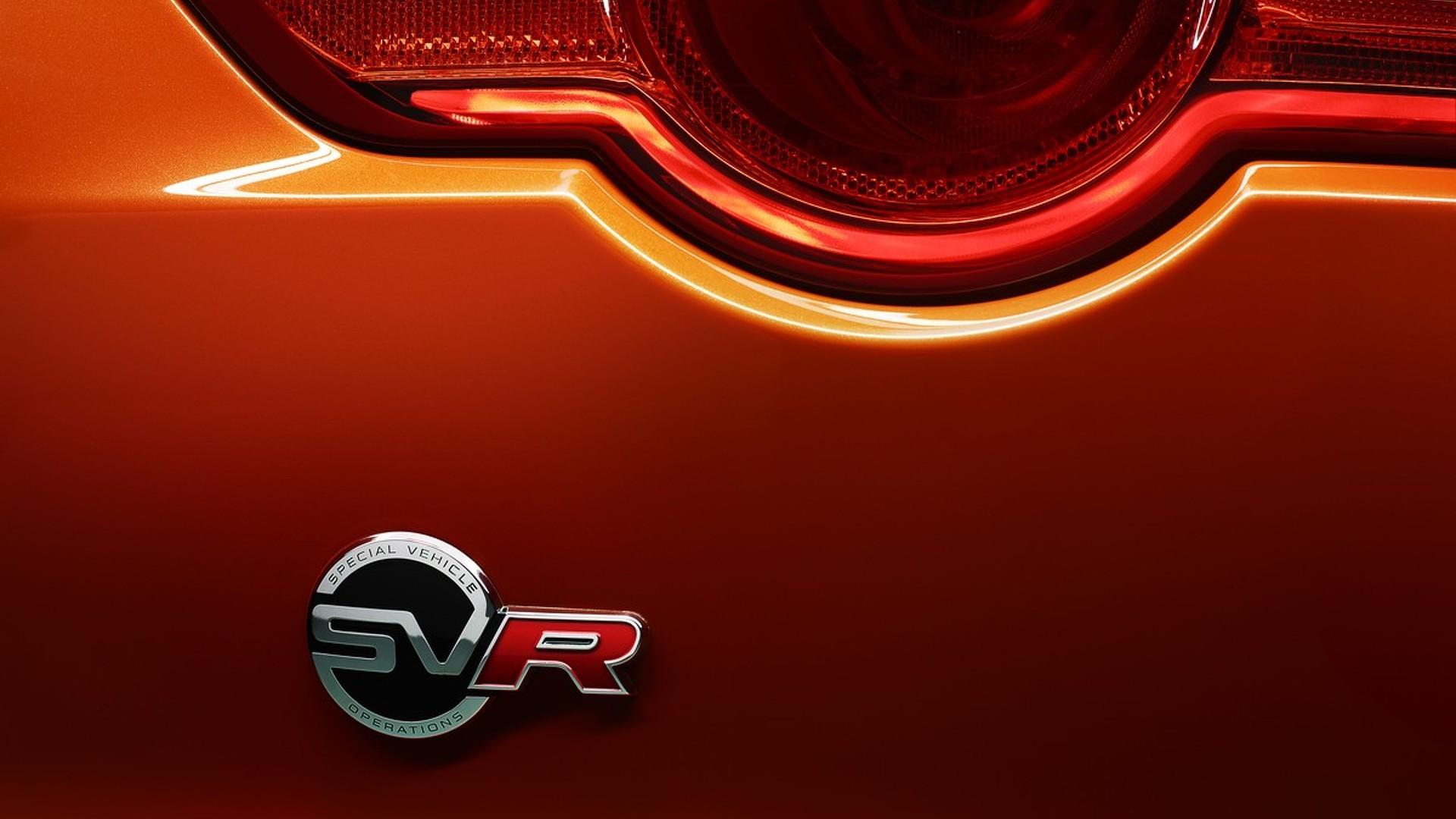 Jaguar Land Rover EVs And Hybrids To Get The Hot SVR Treatment