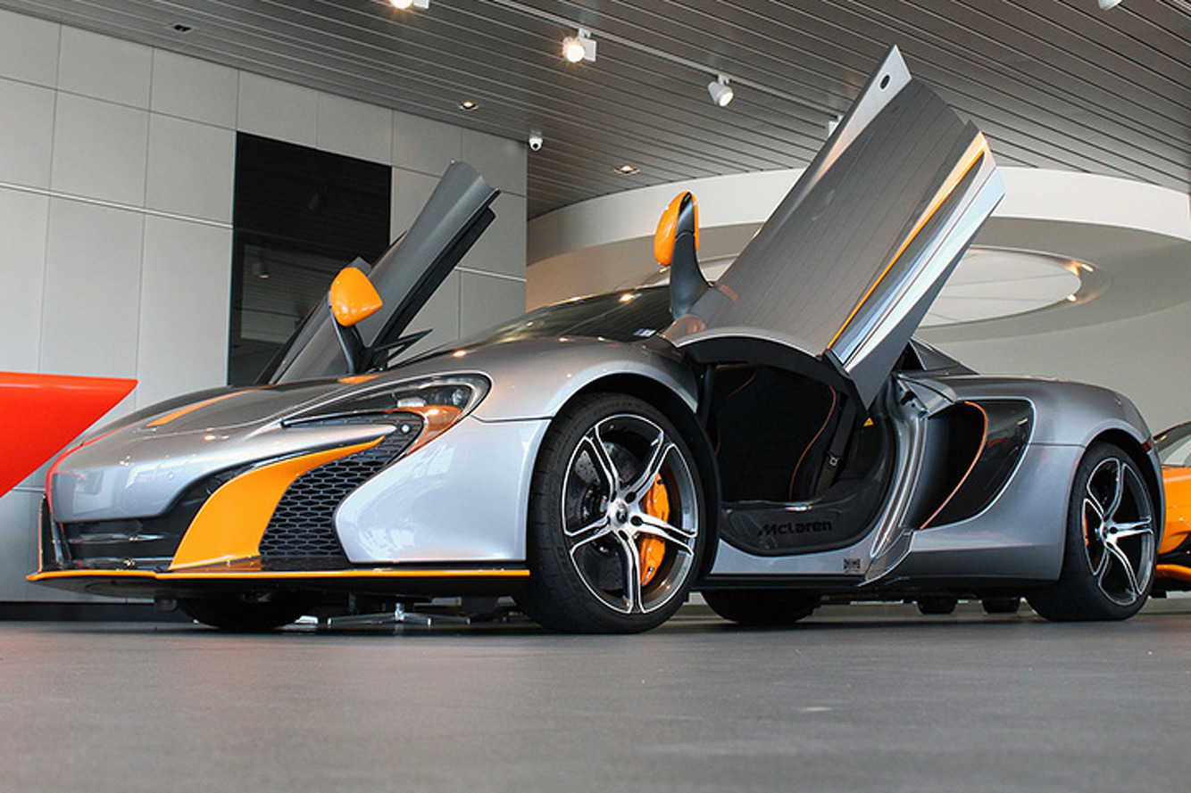 Dream of the Possibilities with this McLaren Newport Beach Custom 650S Spider