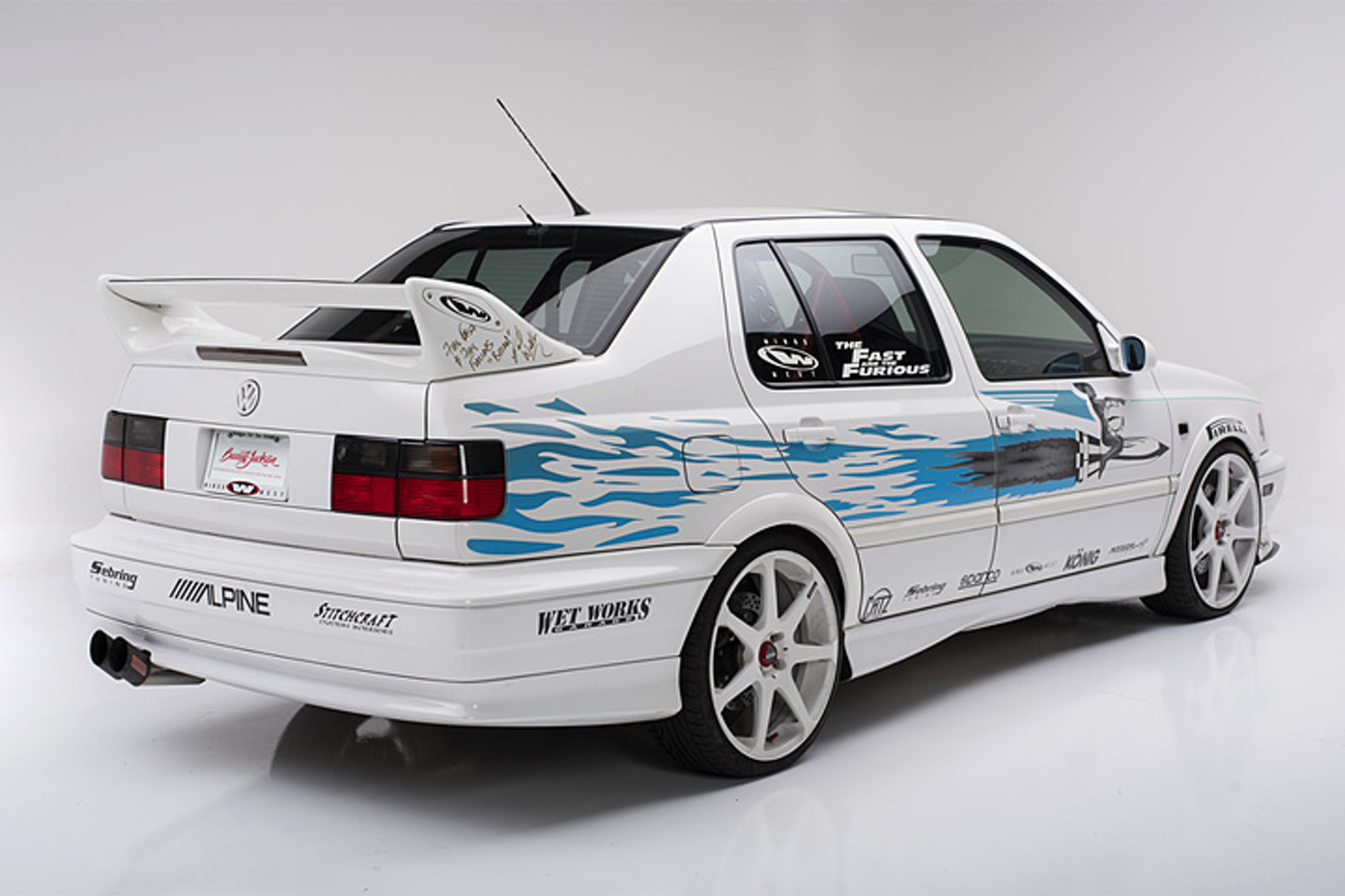"""Jesse's """"Fast and Furious"""" Volkswagen Jetta Goes Up for Auction"""